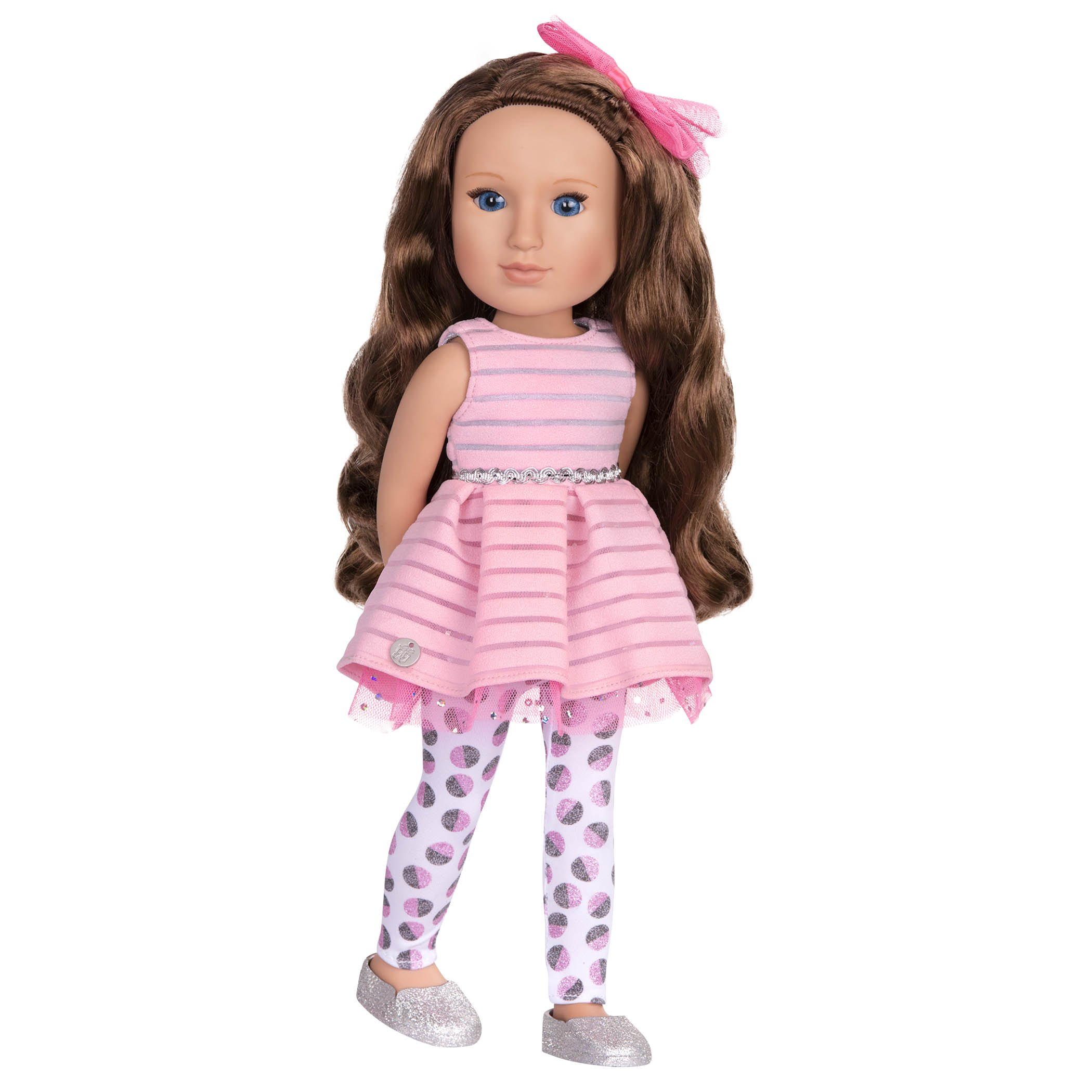 Battat Glitter Girls Bluebell 14 inch Fashion Doll - Dolls for Girls Age 3 and Up - Doll, Clothing and Accessories - Children's Toys