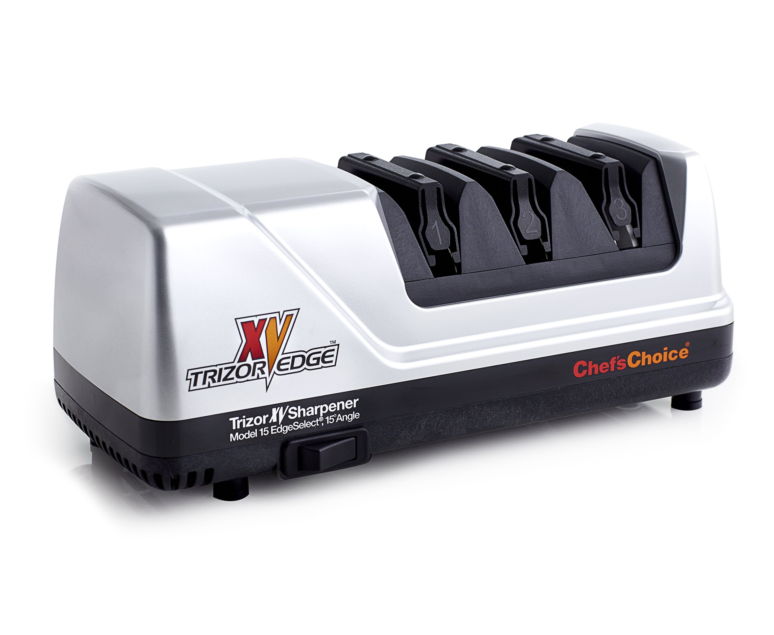 Chef's Choice 15 Trizor XV EdgeSelect Electric Knife Sharpener, Platinum by Chef'sChoice (Image #7)