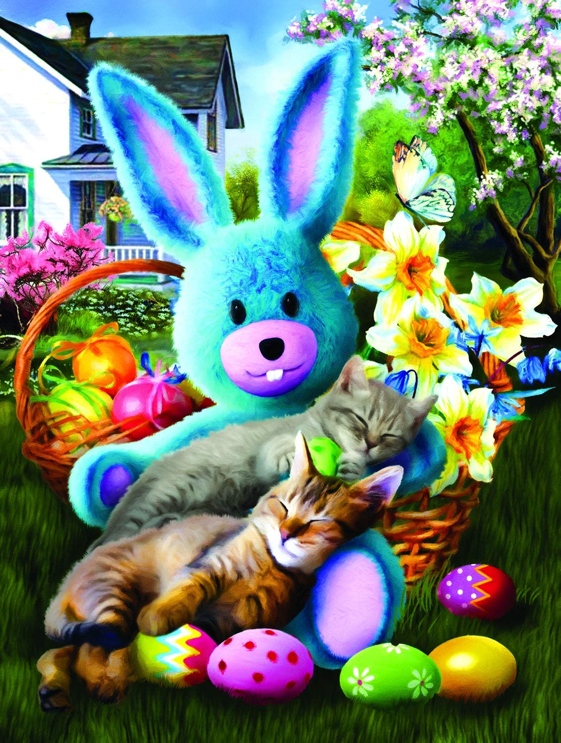 Easter Buddies 500 pc Jigsaw Puzzle by SUNSOUT INC