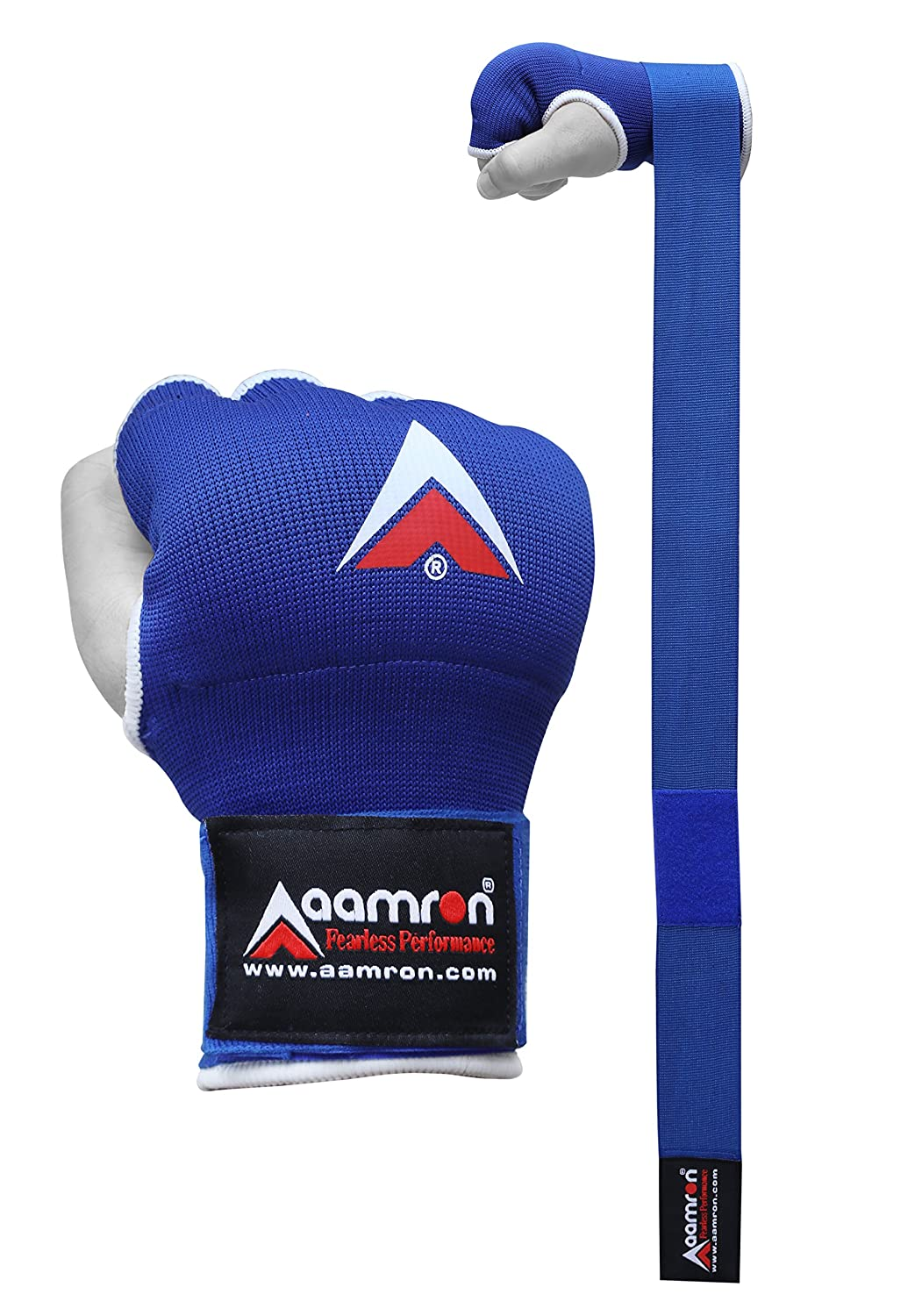Aamron  /® MMA Boxing Hand Quick Wraps Inner Bandages Gloves Protector MuayThai Stretch BGI-A11