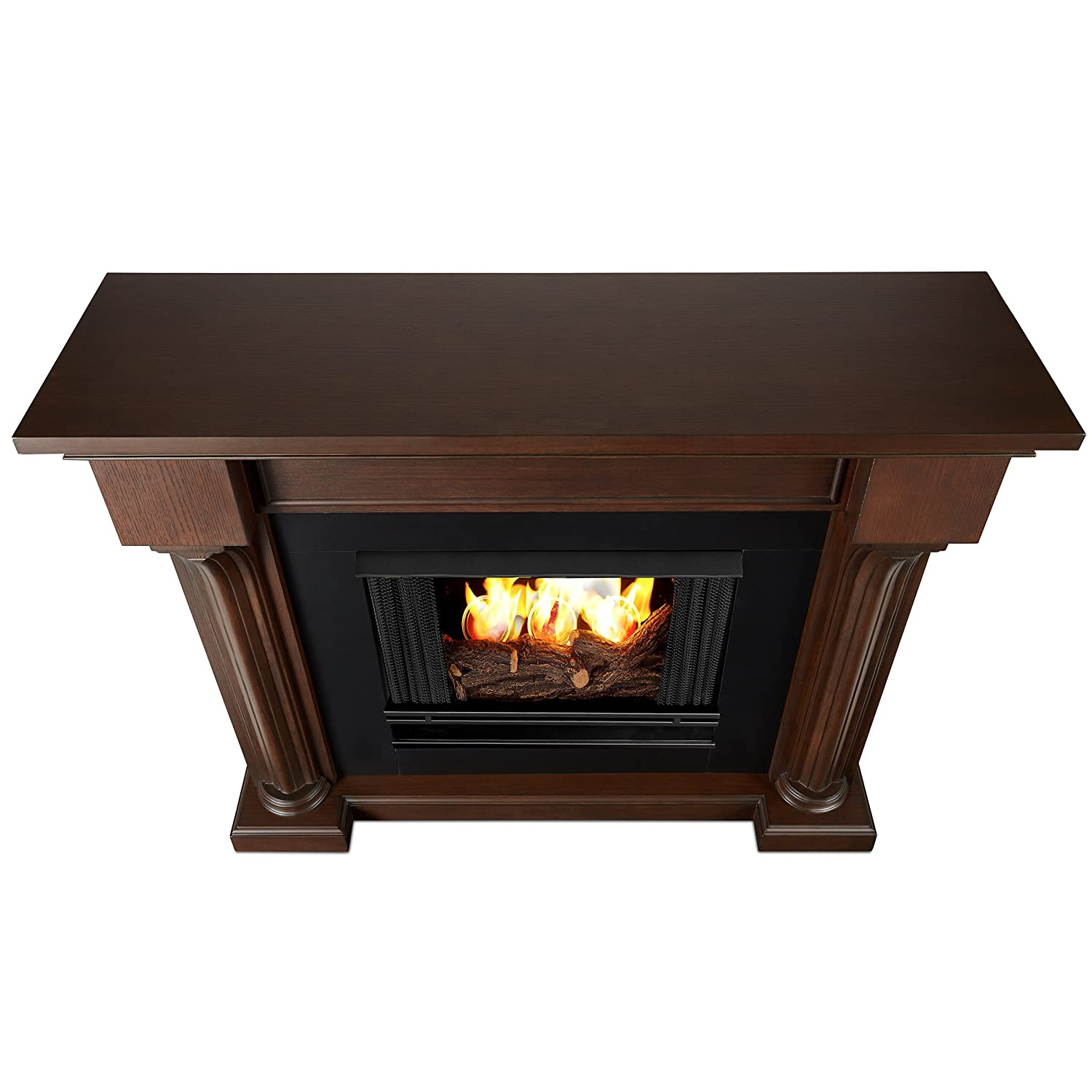 Amazoncom Real Flame CO Verona Ventless Gel Fireplace In - Ashley gel fireplace fuel