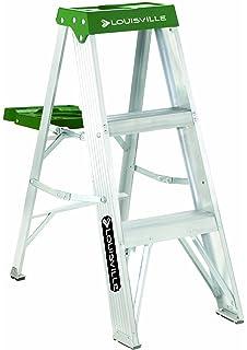 Prime Louisville Ladder As3002 6966014 2 Feet Black Amazon Com Pabps2019 Chair Design Images Pabps2019Com