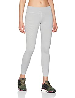 4b9fbbea32aa1 adidas Women's Cv8439 Believe This Regular-rise Heathered 7/8 Tights