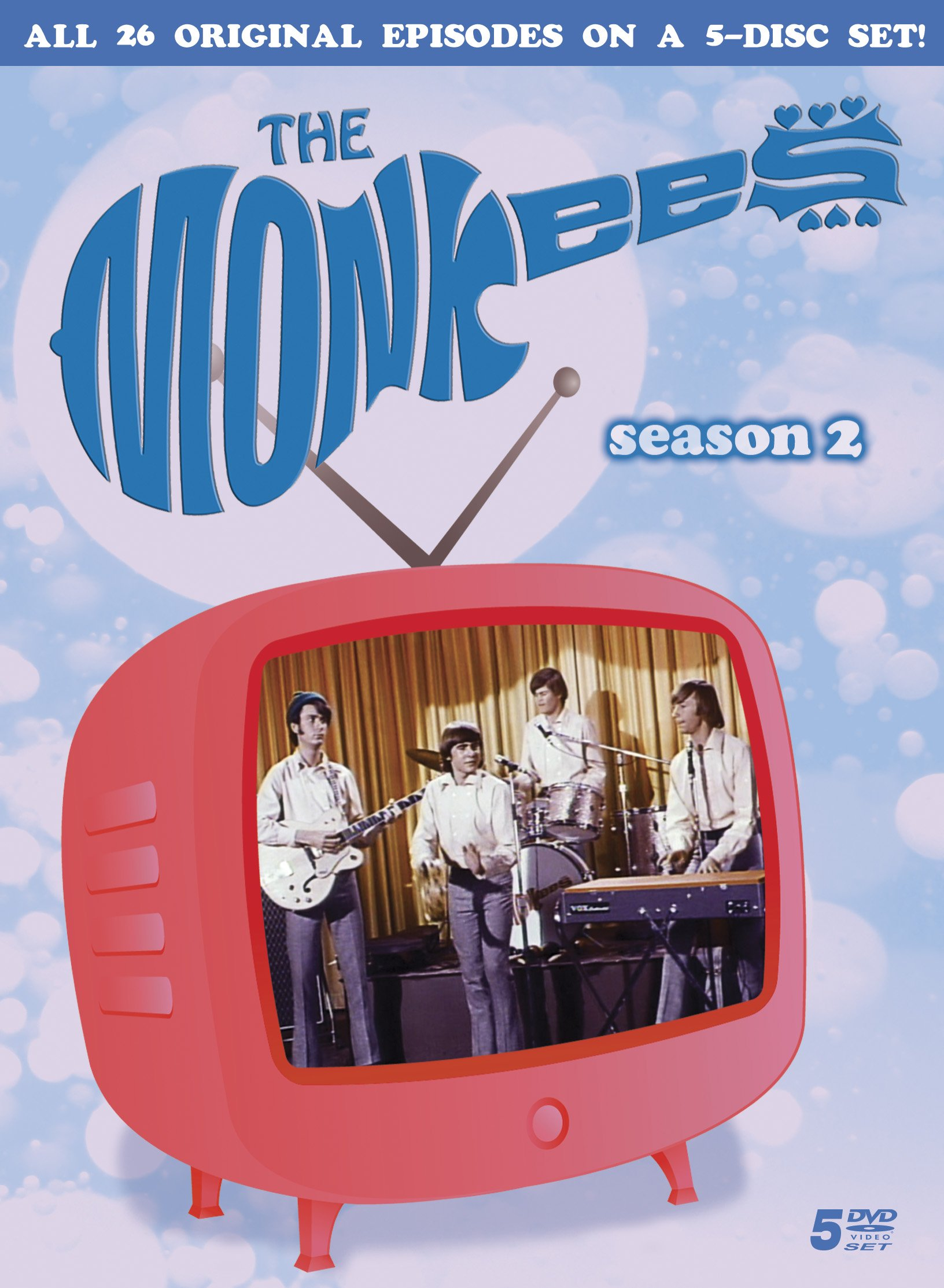DVD : Arlene Martel - The Monkees: Season 2 (5 Disc)