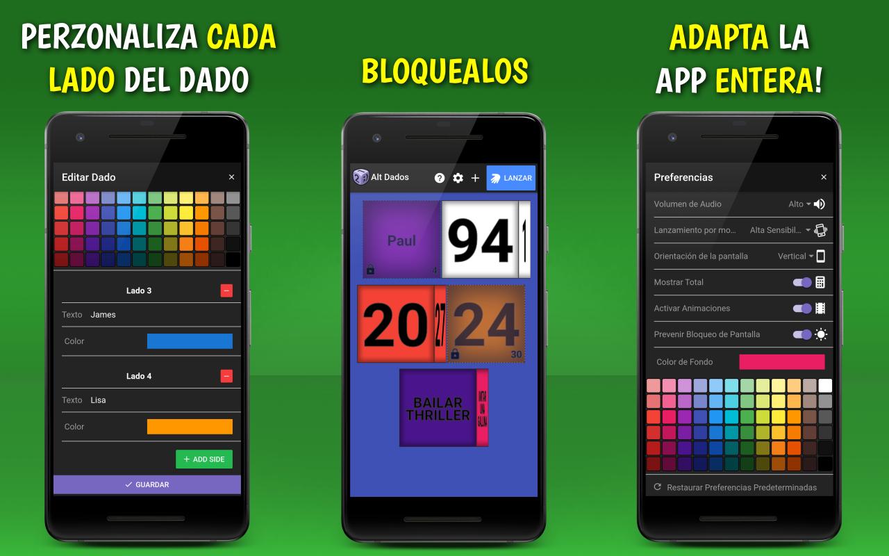 Dados Virtuales: Alt Dados: Amazon.es: Appstore para Android