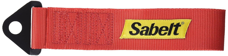 sabelt sbccac0027 Cinghia di traino fino a 2,9 tonnellate di portata, Rosso 9tonnellate di portata