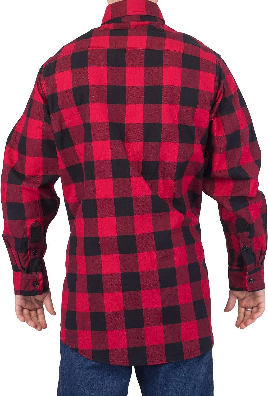 KONRECO Fire Resistant FR Cotton Light Weight Mens Uniform Shirt