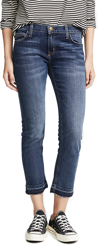 B00LVZAULW Current/Elliott Women's The Cropped Straight Leg Jeans 814faIGoMkL.UL1500_