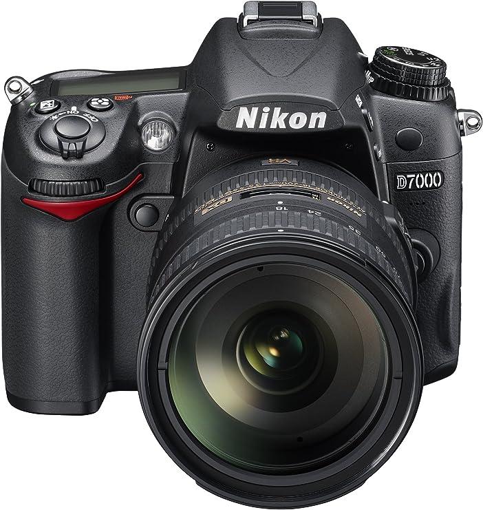 Nikon D7000 - Cámara Digital de 16.2 MP (Zoom óptico 5.8X), Negro ...