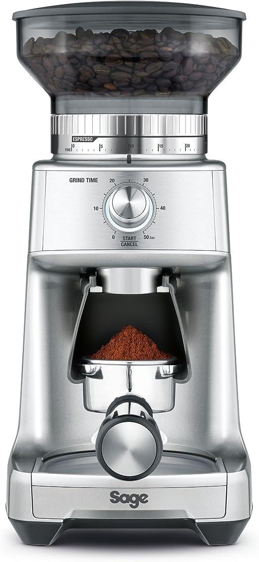 Sage Appliances SCG600SIL2EEU1 café, 130 W, Molinillo cónico de ...