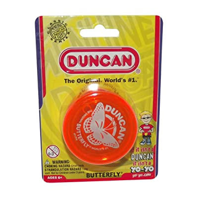 Duncan Butterfly YO-YO-Orange: Toys & Games