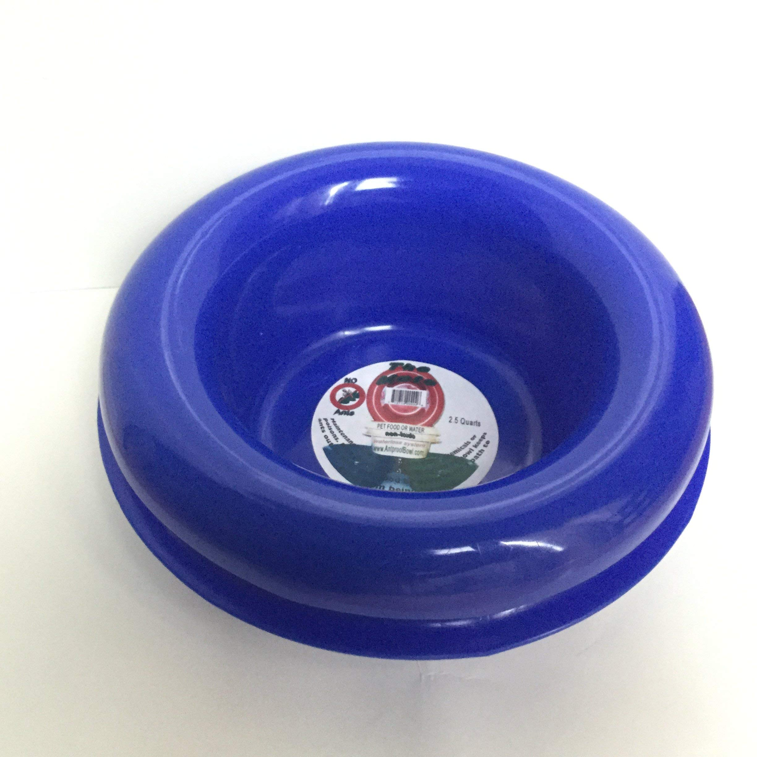 Ant Free Proof Pet Dog Cat Bowls 2 Pack - Made in The USA by Insider Bat