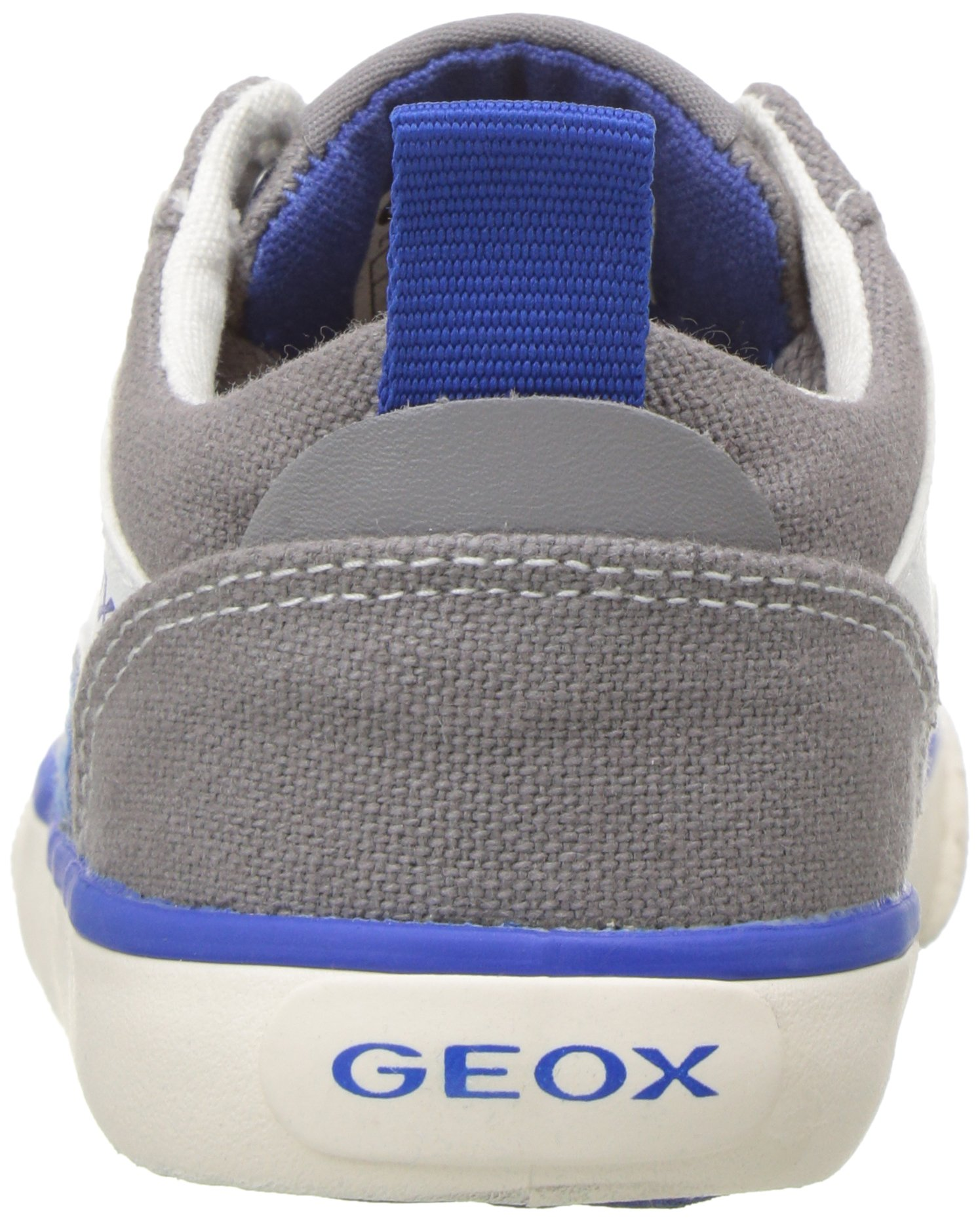 Geox Boys' JR KIWIBOY 89 Slip-On Grey/Royal 36 EU/4 M US Big Kid by Geox (Image #2)