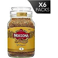 Moccona Coffee Classic Medium Roast Freeze Dried (400g x 6 Packs)
