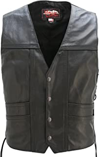 product image for American Made - Leather Cruiser Vest