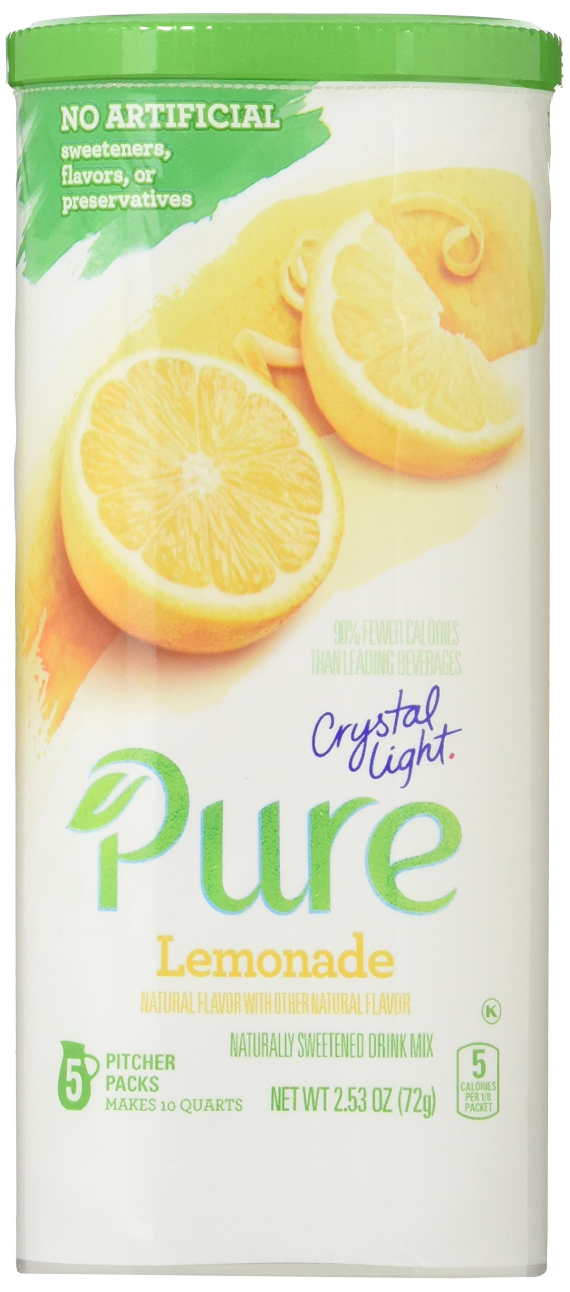 Amazon Com Crystal Light Pure Energy 3 Pack Variety New