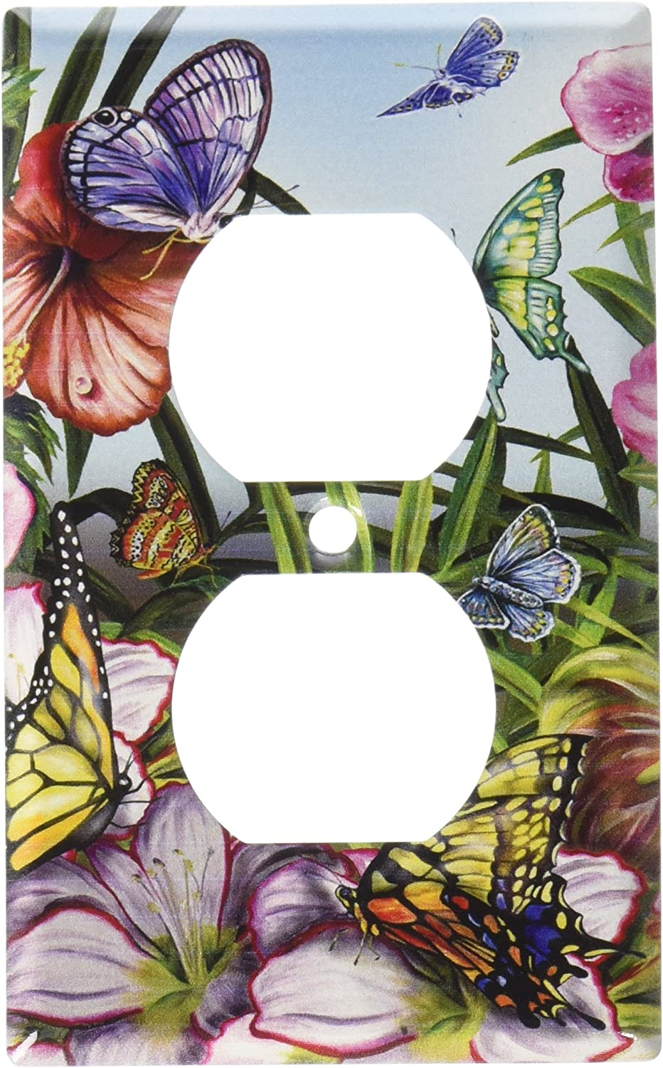 Art Plates - Blue Butterflies Switch Plate - Outlet Cover