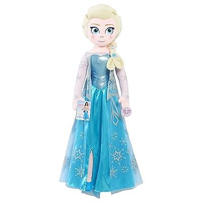 Disney Frozen 2 Jumbo Singing Elsa - Brown Mailer: Toys & Games