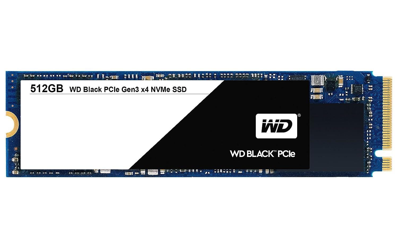 WESTERN DIGITAL Black 512GB Performance SSD, 8 Gb/s M.2 2280 PCIe NVMe Solid State Drive – WDS512G1X0C [Old Version]