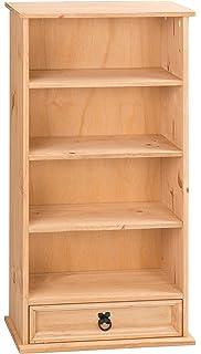 Mercers Furniture Corona 1 Drawer Bookcase And DVD Storage Rack