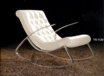 Relaxliege Design schaukelstuhl lounge relax liege design klassiker amazon de küche