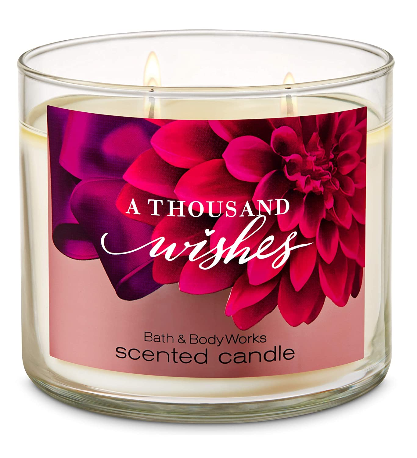 1 Bath /& Body Works A THOUSAND WISHES Youre Large 3-Wick Candle 14.5 oz