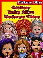 Baby Alive Custom Princess Dolls Throw Up Play-Doh Reverse Video