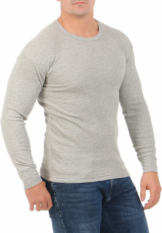 Hombre Camiseta Interior Térmica Manga Larga con Forro Interior Cálido Ropa Interior Cl 4035: Amazon.es: Ropa y accesorios
