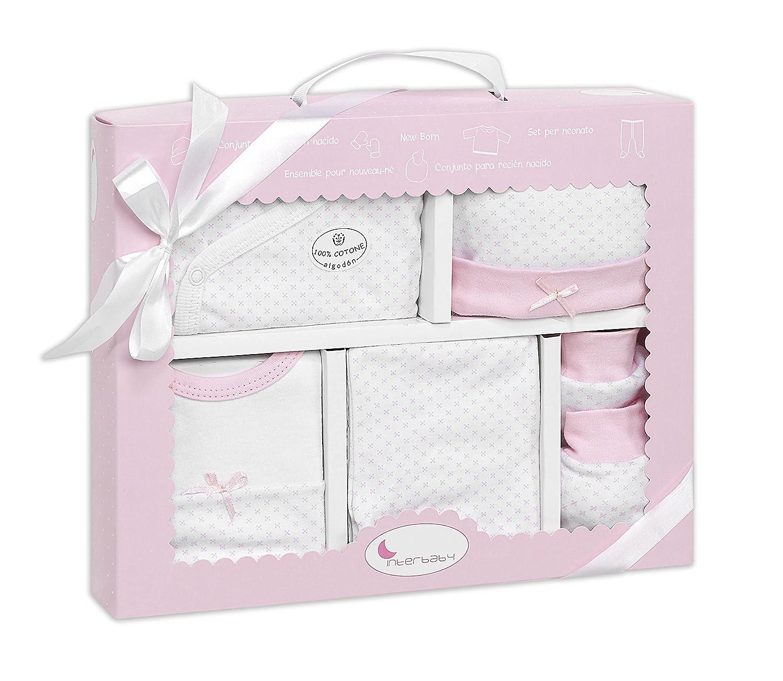 Set Ropa Recién Nacido color rosa (5 piezas): Amazon.es: Bebé