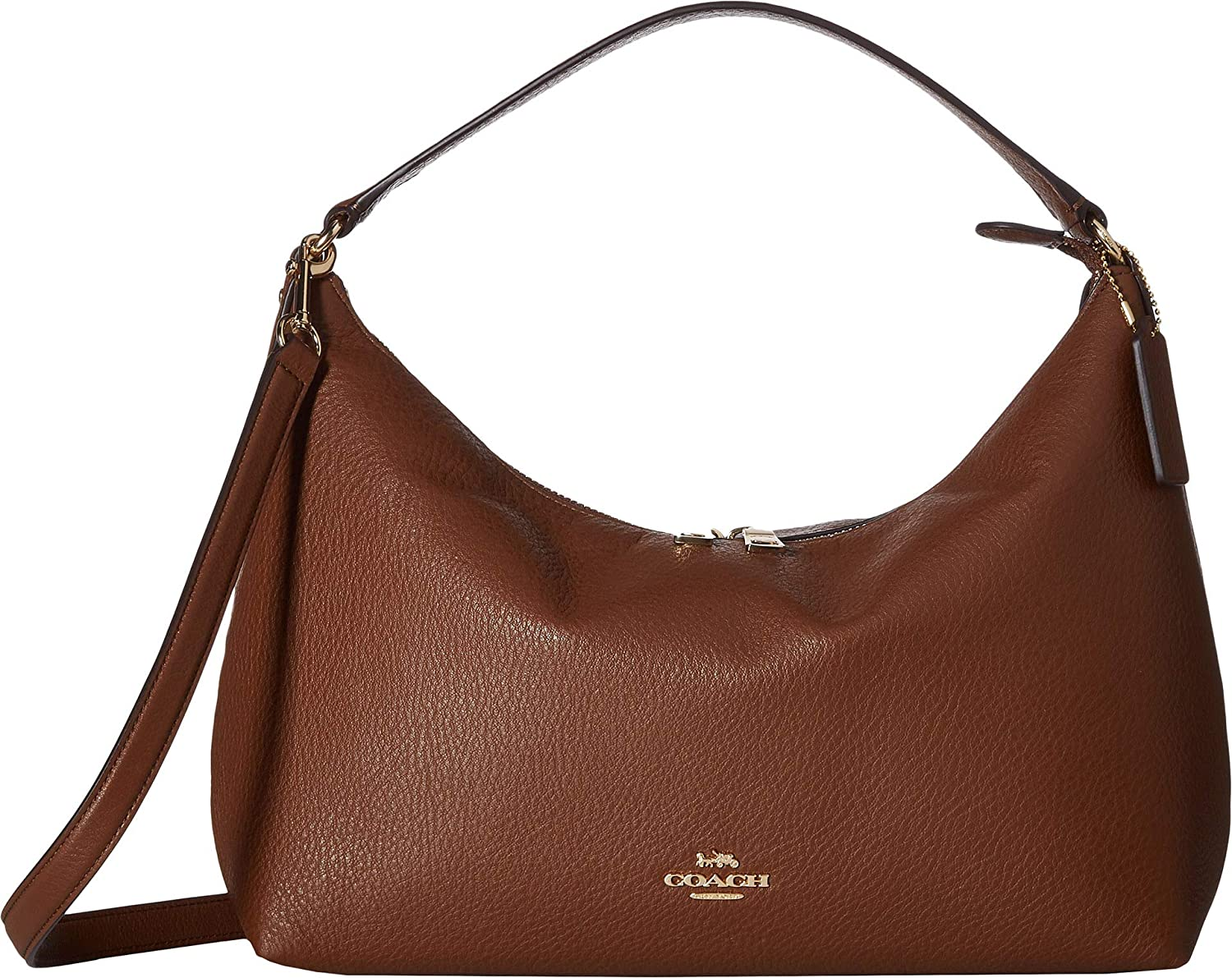 Amazon.com  COACH Women s Pebbled Leather East West Celeste Convertible Hobo  Dark Blush One Size  Shoes bb23ad811e915