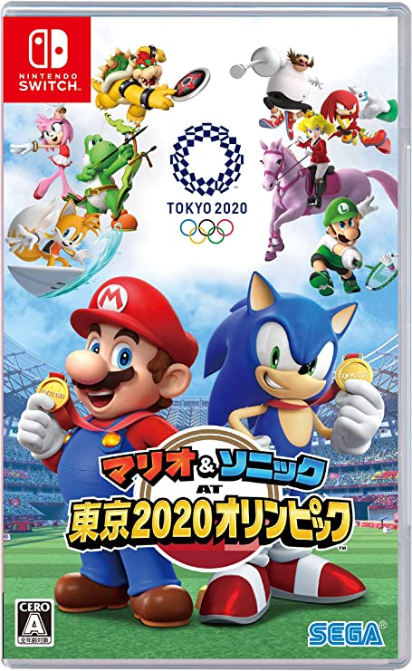 SEGA MARIO SONIC AT THE OLYMPIC GAMES TOKYO 2020 NINTENDO SWITCH ...