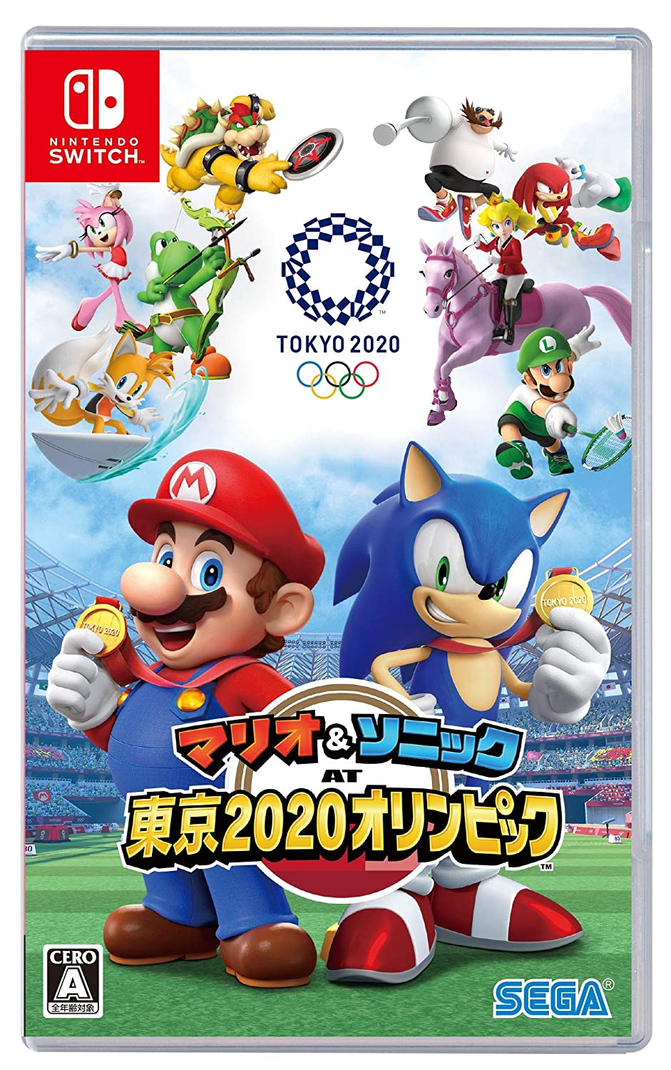 New Nintendo Switch Games 2020.Amazon Com Mario Sonic At Tokyo 2020 Olympics Tm Switch