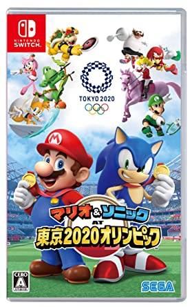 Mario And Sonic At The Olympic Games 2020.Amazon Com Mario Sonic At Tokyo 2020 Olympics Tm Switch