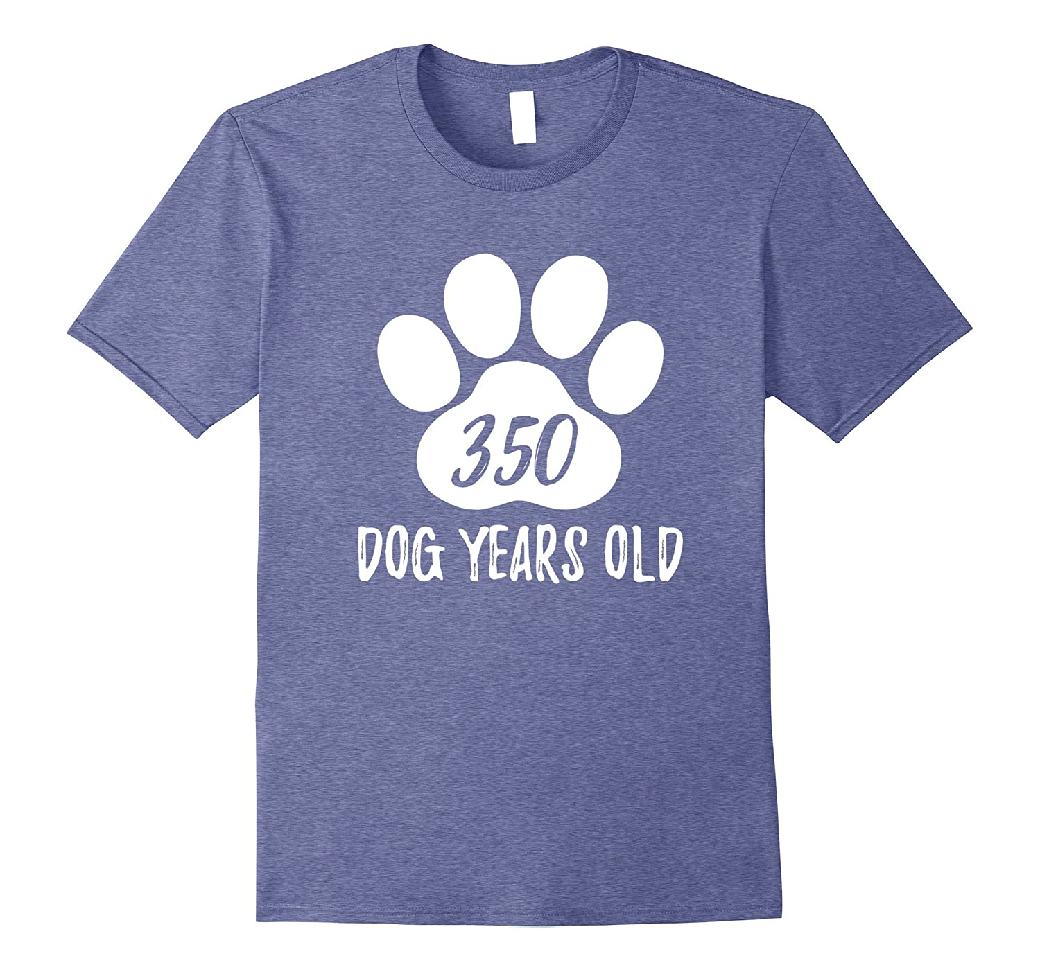 350 Dog Years Old Funny 50th Birthday