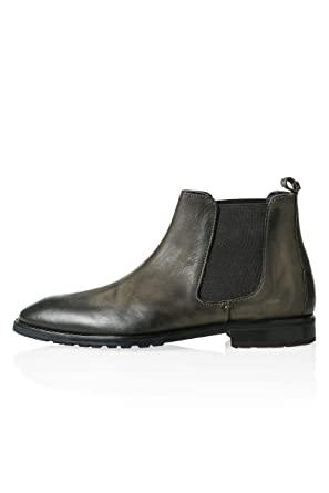 OTTO KERN Herren Stiefeletten Chelsea Boots Stiefel Echtleder ... 11571d308f