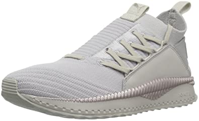 PUMA Women s Tsugi JUN WN s Sneaker Gray Violet-Metallic Beige ... 04162cabf