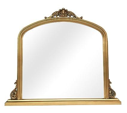 antique wall mirrors round sbc decor amarone mantle wall mirror 39quot 44quot amazoncom 39