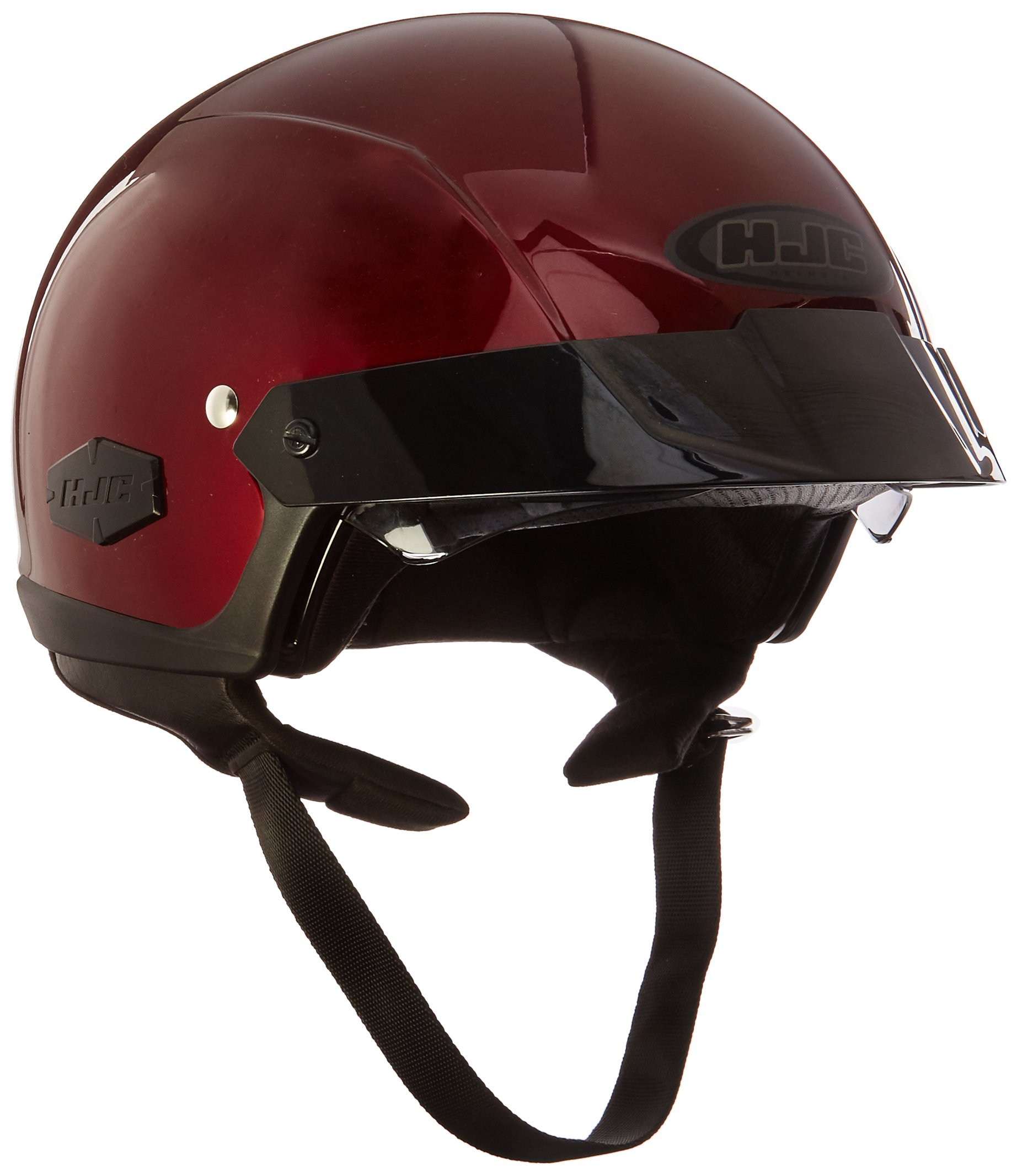 HJC IS-Cruiser Half-Shell Motorcycle Riding Helmet (Wine, X-Small)