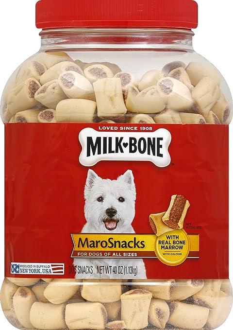 Milk-Bone MaroSnacks with Real Bone Marrow Dog Treats,