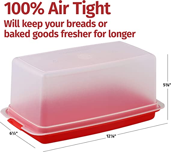 Panera de 100/% madera de acacia procesada de alta calidad para una frescura duradera. Almacenamiento sostenible de pan y boller/ía sin pl/ástico Berry/® Panera