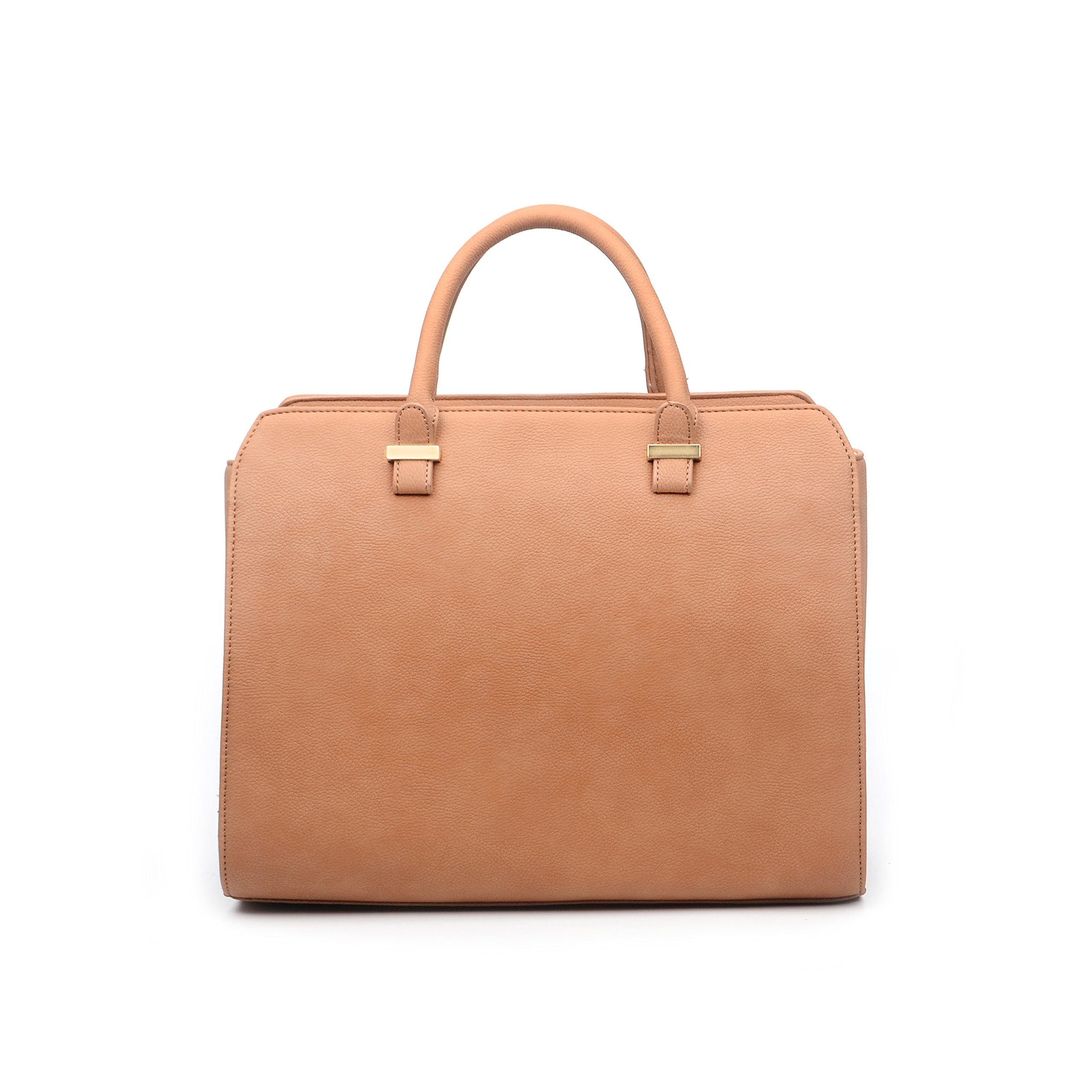 FASH Limited Classic Business Tote Bag (Matte) - Brown