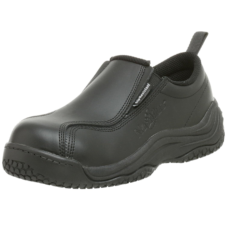 080cae2b367f Amazon.com  Nautilus 210 Women s Slip Resistant Comp Toe No Exposed Metal  Slip-On  Shoes