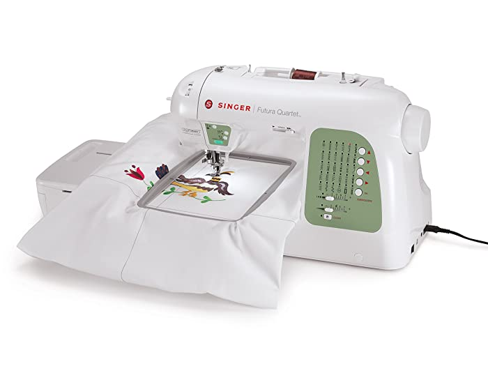 Singer SEQS-6000 Futura Embroidery Machine Review