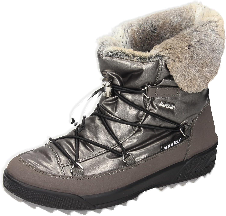 Skechers Adorbs Polar Nero Pelliccia Foderato Stivali da