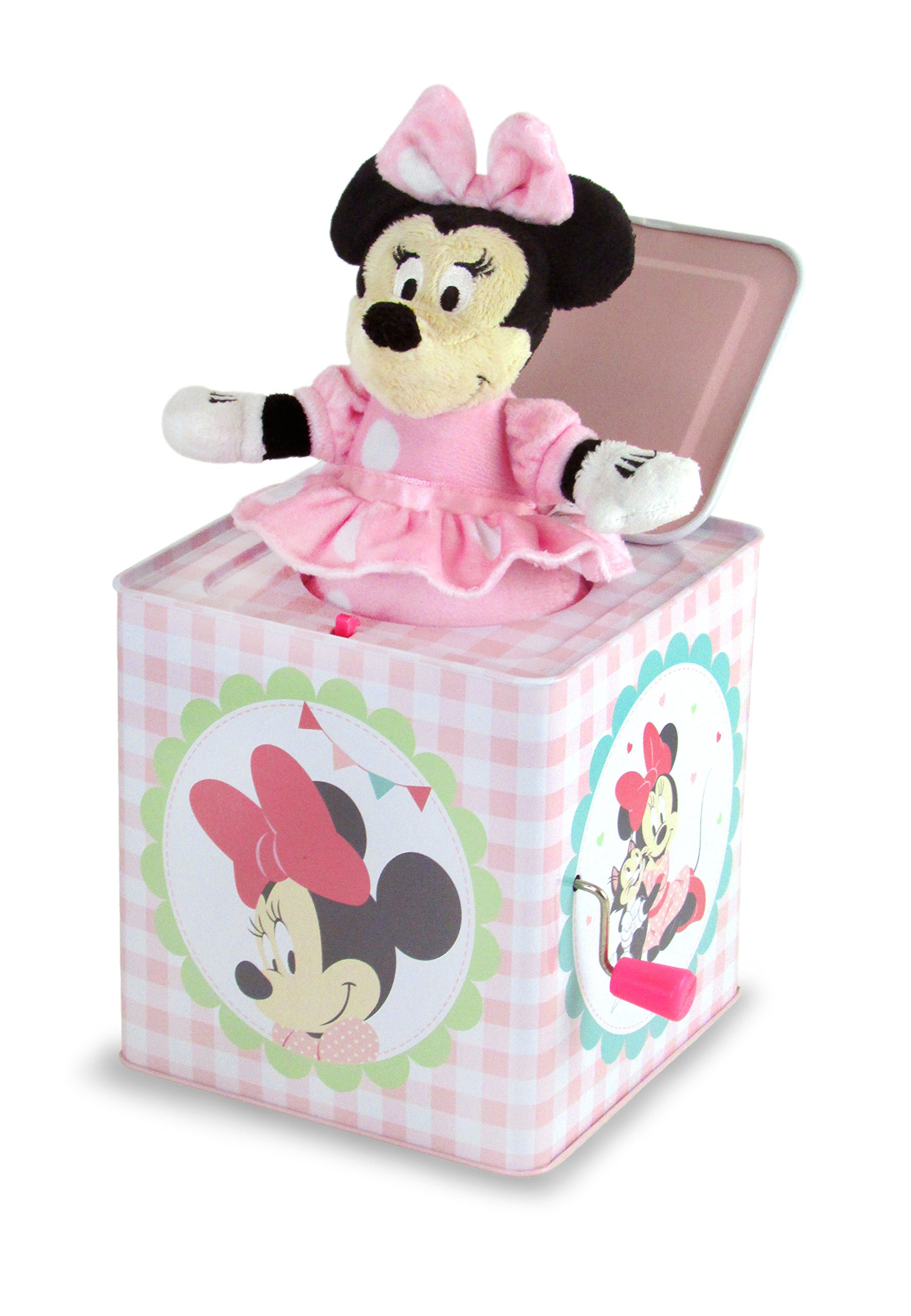 Disney Baby Minnie Mouse Jack-in-the-Box, 6.25''
