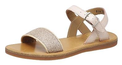 e5055b2d1e28 Pom D api Girls  Fashion Sandals Pink Size  10.5 Child UK  Amazon.co ...
