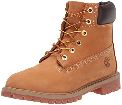 4e374220f8f Timberland 6-Inch Premium Waterproof Unisex Juniors Ankle Boots ...