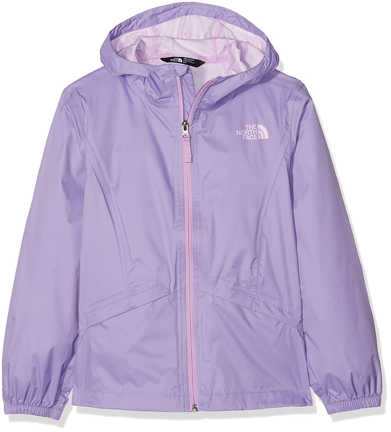 Girl's The North Face Zipline Rain Jacket Paisley Purple Size Medium T92U3FNXT. M