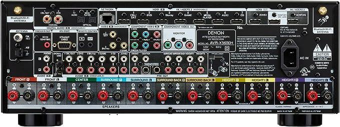 Denon AVR-X3600H 9.2 Channel AV Receiver with Original Box (Used) 814g0eatGRL._AC_SX679_