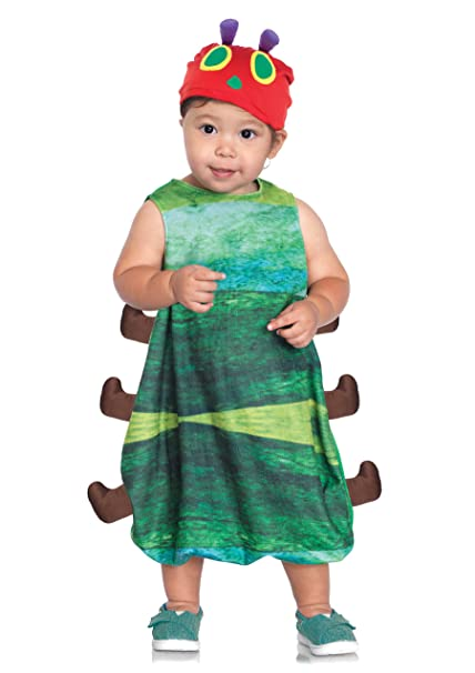 Leg Avenue Baby Hungry Little Caterpillar Costume, Green, 12-18 Months